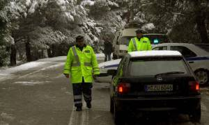 Καιρός: Οι συμβουλές της Αστυνομίας σε οδηγούς και πεζούς για τις μετακινήσεις σε παγωμένους δρόμους