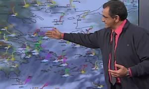 Καιρός LIVE: Τι ώρα θα ξεσπάσει ο νέος χιονιάς – Η πρόβλεψη του Θοδωρή Κολυδά (vid)