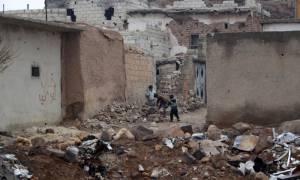 Συρία: Η ρωσική Πολεμική Αεροπορία βομβαρδίζει την Αλ Μπαμπ