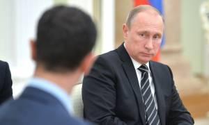 Συρία: Ο Άσαντ υπόσχεται στον Πούτιν κατάπαυση του πυρός (Vid)