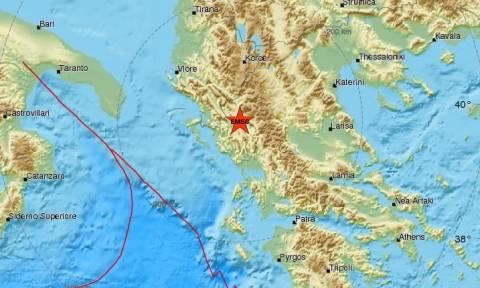 Σεισμός στα Γιάννενα