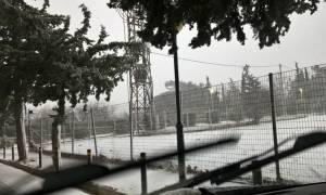 Καιρός live – Χιονίζει ΤΩΡΑ σε ολόκληρη την Αθήνα – Δείτε live εικόνα
