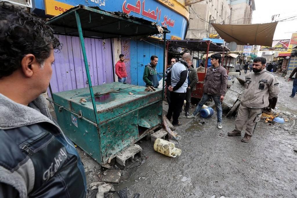 Ιράκ: Αυξάνεται δραματικά ο αριθμός των νεκρών από τη διπλή βομβιστική επίθεση στη Βαγδάτη (pics)