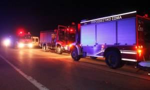 Μεγάλη φωτιά τώρα στο Ελληνικό