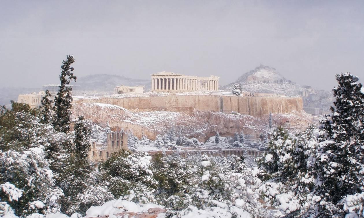 Καιρός: Μετεωρολογική «βόμβα» με πρωτοφανή χιονιά θα «σκάσει» στην Αθήνα