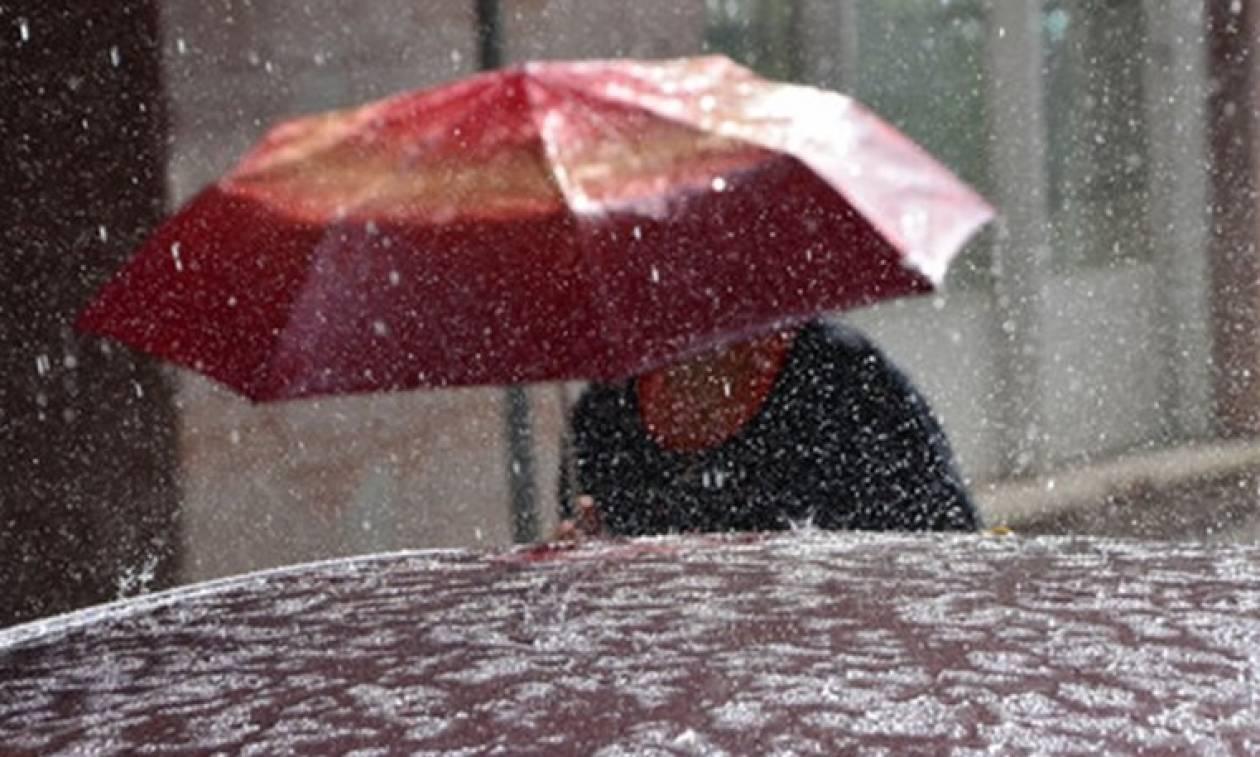 Καιρός: Βροχές και χιόνια την Τετάρτη (4/1) - Αναλυτική πρόγνωση
