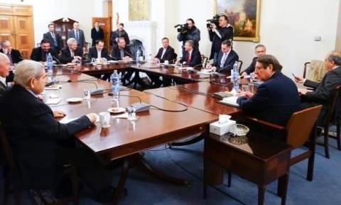 Κυπριακό: Ολοκληρώθηκε η συνεδρία του Εθνικού Συμβουλίου