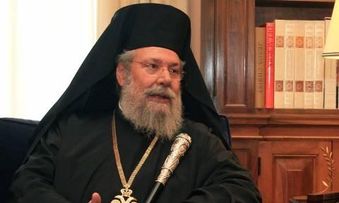 Αρχιεπίσκοπος Κύπρου: Ο Ερντογάν θέλει να γίνει Σουλτάνος