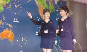 Το ημερολόγιο του Κιμ Γιονγκ Ουν για το 2017 είναι γεμάτο με sexy αεροσυνοδούς (photos)