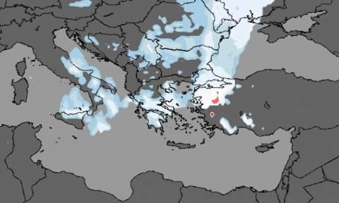 Καιρός LIVE: Πού χιονίζει τώρα – Πότε θα φτάσει στην Αθήνα η κακοκαιρία