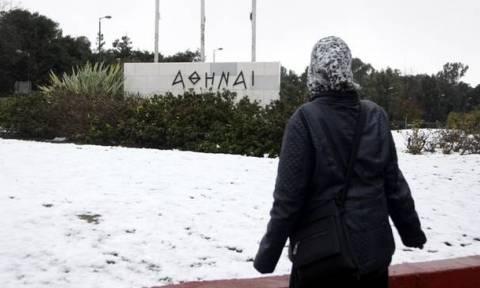 Καιρός: Θα χιονίσει στην Αθήνα τη νύχτα – Υπό το μηδέν ο υδράργυρος