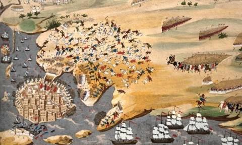 Σαν σήμερα το 1826 ο Αν. Μιαούλης «σπάει» την πολιορκία και μεταφέρει πολεμοφόδια στο Μεσολόγγι