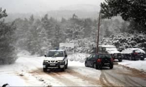 Καιρός: Χιόνια και πολικές θερμοκρασίες στην Μακεδονία - Που χρειάζονται αλυσίδες