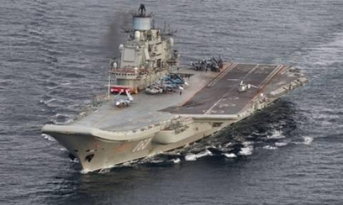 Το ρωσικό αεροπλανοφόρο «Αντμιράλ Κουζνετσόφ» σήκωσε άγκυρα από τη Συρία