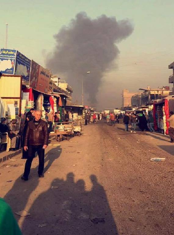 Μακελειό στο Ιράκ: Ισχυρή έκρηξη στη Βαγδάτη – Τουλάχιστον 13 νεκροί και 50 τραυματίες (Pics)