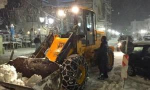 Καιρός: Στο έλεος της «Αριάδνης» η Κύμη - «Καθυστέρησαν να παρέμβουν για τα χιόνια»