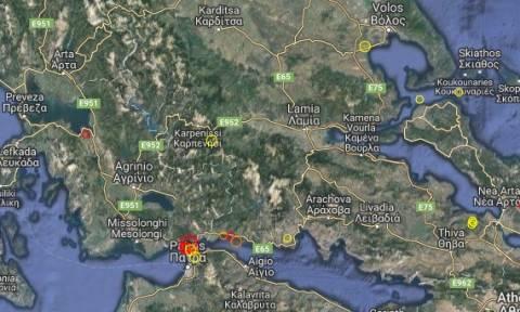Ισχυρός σεισμός στην Πάτρα – Ταρακουνήθηκε όλη η Πελοπόννησος