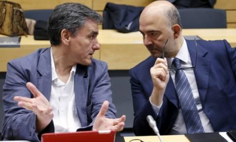 Έκτακτες συναντήσεις Τσακαλώτου με Μοσκοβισί και Σαπέν στις Βρυξέλλες ενόψει Eurogroup