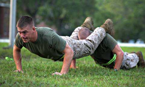 6 ασκήσεις push-ups που κάνουν στις Ειδικές Δυνάμεις!