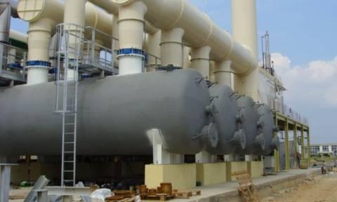 Καιρός - Κέρκυρα: Διαρροή σε δεξαμενές υγραερίου από τον παγετό