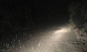 Καιρός ΤΩΡΑ: Χιονίζει στο Ιόνιο - Σε ποιά νησιά δεν θα λειτουργήσουν τα σχολεία