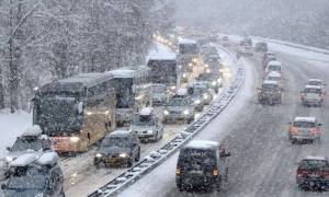 Καιρός ΤΩΡΑ: Έκλεισε η Εθνική Οδός Ιωαννίνων - Αντιρρίου