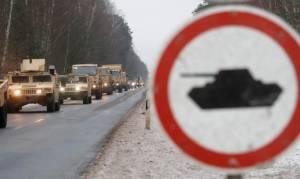 Τύμπανα πολέμου; Αμερικανική τεθωρακισμένη ταξιαρχία αναπτύχθηκε στα πολωνικά σύνορα (Pics+Vid)