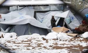 Διεθνής Αμνηστία: Οι πρόσφυγες στην Ελλάδα κινδυνεύουν να παγώσουν μέχρι θανάτου