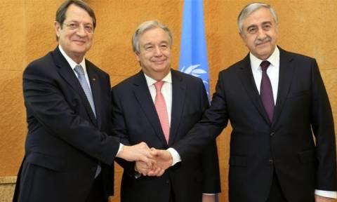 Κυπριακό - ΟΗΕ για τη Διάσκεψη: Δέσμευση των συμμετεχόντων για συνολική λύση