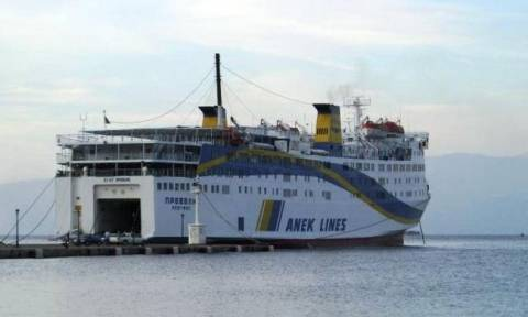 Κάσος: Στο λιμάνι προσέκρουσε το επιβατηγό οχηματαγωγό πλοίο «Πρέβελης»