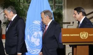 Κυπριακό: Χωρίς συμφωνία η Διάσκεψη της Γενεύης - Νέες επαφές στις 18 Ιανουαρίου