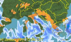 Καιρός ΤΩΡΑ: Έρχονται ξανά χιόνια στην Αθήνα! - Οι προβλέψεις για τη Θεσσαλονίκη