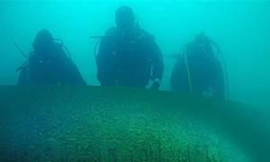 Ναυάγιο: Τσαρικό πολεμικό πλοίο βρέθηκε βυθισμένο στην τουρκική λίμνη Βαν