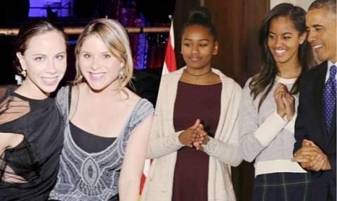 ΗΠΑ: Η συγκινητική επιστολή που έστειλαν οι αδελφές Μπους στις αδελφές Ομπάμα