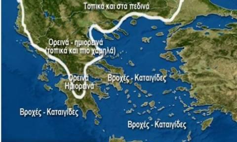 Καιρός: Νέο κύμα κακοκαιρίας με χιόνια σε Αθήνα και Θεσσαλονίκη