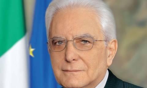 Στην Ελλάδα ο πρόεδρος της Ιταλίας - Συνάντηση με Παυλόπουλο