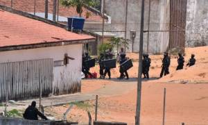 «Λουτρό» αίματος στη Βραζιλία: 27 νεκροί ο απολογισμός της εξέγερσης στη φυλακή Αλκασουίς