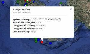Σεισμός ανοικτά της Γαύδου