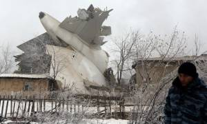 Αεροπορική τραγωδία στο Κιργιστάν: Το λάθος του πιλότου έριξε το αεροσκάφος (Pics+Vids)