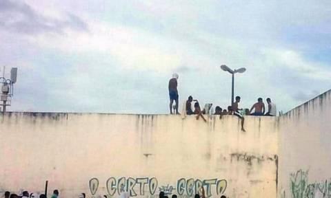 Βραζιλία: Νέα εξέγερση στη φυλακή όπου διαπράχθηκε η σφαγή 26 κρατουμένων