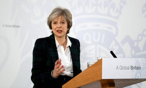 Αυτές είναι οι 12 προτεραιότητες της Τερέζα Μέι για το Brexit (vid)