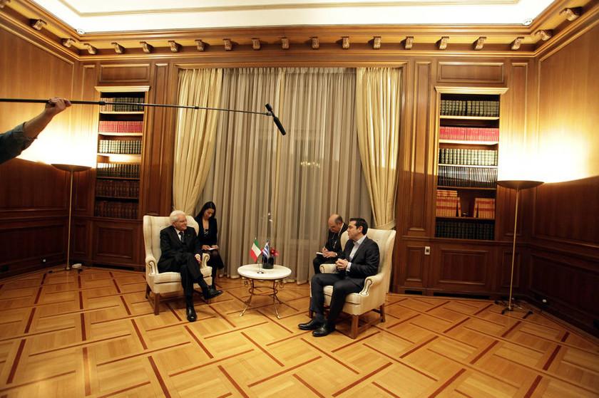 Τι συζήτησαν στο Μαξίμου Τσίπρας - Ματαρέλα (pics)