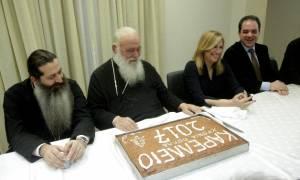 Εντυπωσιασμένη η Φ. Γεννηματά από το έργο της Αρχιεπισκοπής