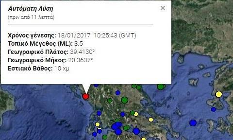 Σεισμός στην Ηγουμενίτσα