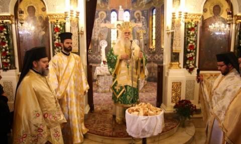 Εορτασμός του Αγίου Αθανασίου στο κέντρο των Αθηνών