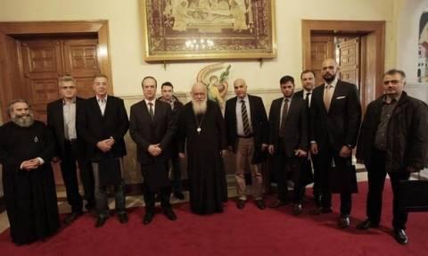 Ο Αρχιεπίσκοπος συναντήθηκε με αστυνομικούς της Δίωξης Εγκλημάτων κατά ζωής