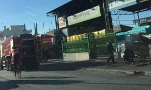 Συναγερμός για φωτιά στη Λεωφόρο Αλίμου