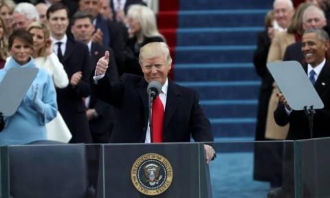Ορκωμοσία Τραμπ Live: Ο Ντόναλντ Τραμπ είναι ο νέος πρόεδρος των ΗΠΑ