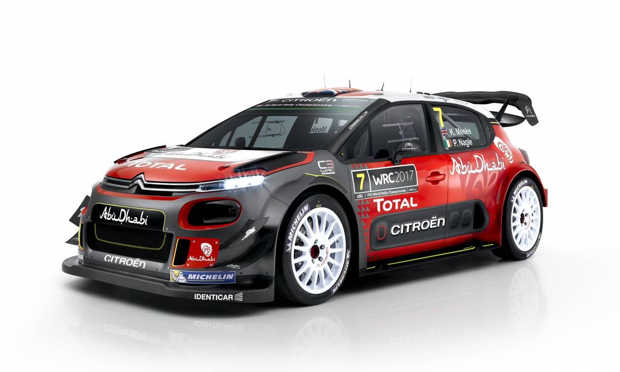 Tο Νέο Citroen C3 WRC ρίχνεται στη μάχη του παγκοσμίου πρωταθλήματος ράλι για το 2017!