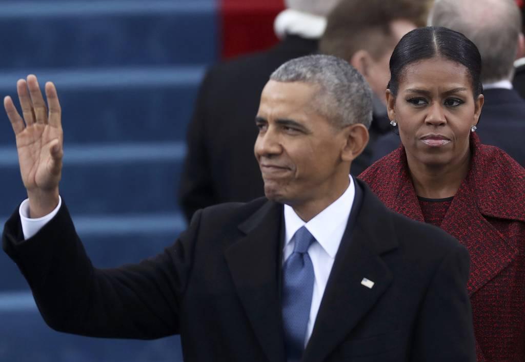 Ορκωμοσία Τραμπ: Το «αντίο» των Ομπάμα και το ξενέρωμα της Μισέλ! (pics)